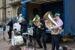 Yorkshire Oompah Band had the attendees dancing away