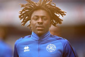 QPR playmaker Eberechi Eze, who has been interesting Leeds United, acording to reports. (PHOTO BY: Alex Pantling.Getty Images).