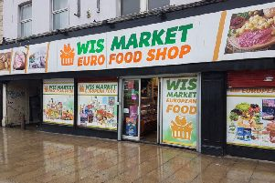 WIS Market, on Kirkgate in Wakefield, was searched by the authorities on September 21.