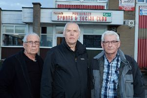 Paul Bushell, Mick Logan (secretary) and Derek Carter (Vice secretary) are trying to increase membership at Pontefract Sports and Social Club.