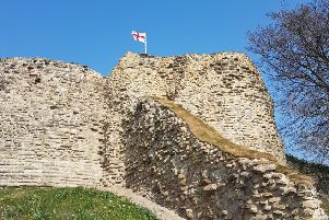 Work to restore Pontefract Castle is now complete. Pic couresty of Wakefield Council.