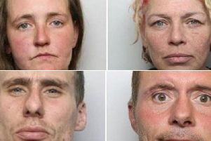 GONE:Those to have been banned from the city in recent months include Samantha Scorer (top left), Angela Fenton (top right), Regan McFarlane (bottom left) and Wayne Micklefield.