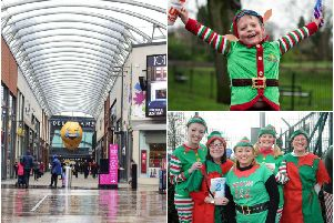 A new charity event challenges members of the public to run a mile - while dressed as an elf.