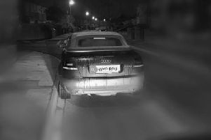 The driver was reported to police after leaving the pub and getting into the car.