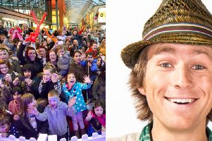 Tonight is the night that CBeebies star Mr Bloom will light up Trinity Walk.