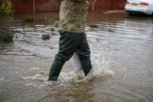 Further flooding is expected across Wakefield this evening as the district braces for 12 hours of rain.