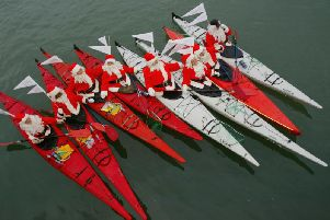 The sessions will take place on Castleford Lock, come dressed as Santa for your chance to win a best dressed prize.