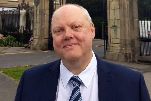 David Brown, the Brexit candidate for Blackpool South