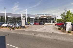 A new car showroom worth more than 10million could be built in Wakefield, if new plans are approved. Photo: Google Maps