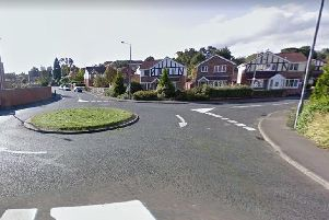 Rachel Ancill crashed into a lamppost on Rochester Drive at Horbury.'Image: Google.
