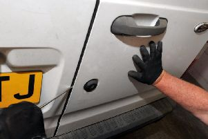Cars and vehicles have been targeted by thieves across Wakefield in the run up to Christmas.