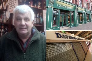 Andrew Robinson is the fifth generation of his family to run the food stall, Davison & Robinson, that was open in Castlefords Indoor Market up until last week.