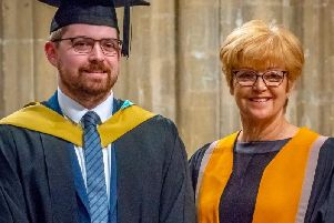 A Wakefield-based optician has been has been celebrating receiving the highest marks in the entire country in his qualifying exams.