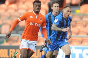 Marc Bola hopes his loan at Blackpool can push him into Middlesbrough's plans