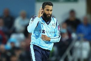 Adil Rashid will concentrate on white-ball cricket only in 2018. (Picture: SWPix.com)