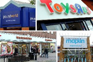The UK has bid farewell to a number of big retail brands over the years