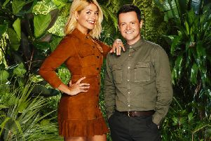 Holly Willoughby and Declan Donnelly  are in the jungle.