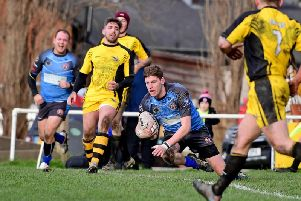 James Senkiw scored four tries as Normanton Knights defeated Edinburgh Eagles on the first round of the Challenge Cup. PIC: Paul Butterfield.
