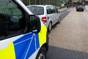 The driver was arrested as he set off to Lincolnshire with his partner and children.