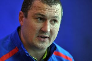 Wakefield Trinity head coach Chris Chester has hailed his team's progress in the past 12 months. PIC: Tony Johnson.