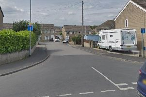 A house on Lady Close was burgled