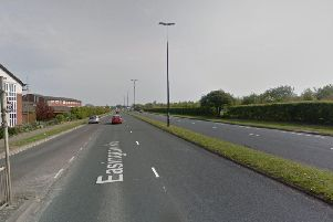 The work will be carried out on part of the southbound section of Easington Road (heading towards the town centre) between Warren Road and the Holdforth Road roundabout. Picture: Google.