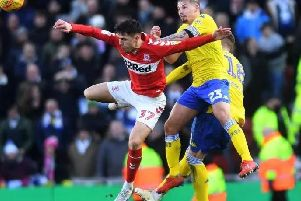 Middlesbrough v Leeds United ended 1-1.