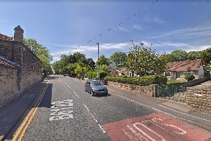 Buses travelling through Horbury will be diverted today as resurfacing work is carried out in the town centre. Picture: Google.