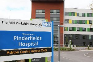 Pinderfields Hospital has seen more pressure on its A&E department than Pontefract or Dewsbury.