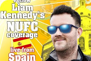 Liam Kennedy's NUFC coverage in Spain.