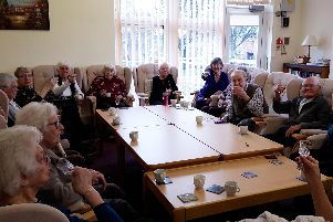 Members of a lunch club which was broken into in Sheffield