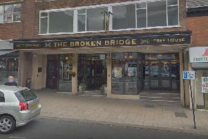 The Broken Bridge in Pontefract