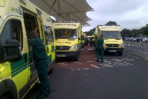 Ambulances took 6,323 patients to emergency departments at the Lancashire Teaching Hospitals NHS Trustbetween December 3 and February 3