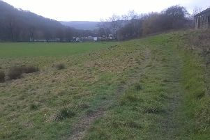 Brearley Fields in Mytholmroyd  One of the areas where Calder Greening work will be taking place