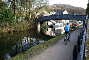 Project: The work between Hebden Bridge and Todmorden are due to be completed by autumn.