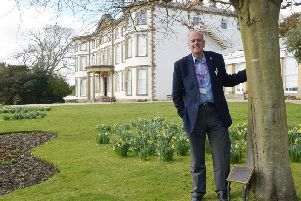 Martin Burnhill at Sewerby Hall