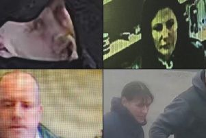 Everyone featured in our latest picture gallery is being sought in connection with an ongoing criminal investigation, but images may be of both potential suspects and witnesses: If you have any information call CrimeStoppers in complete anonymity on 0800 555 111.