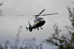 The Great North Air Ambulance was called to Jarrow today