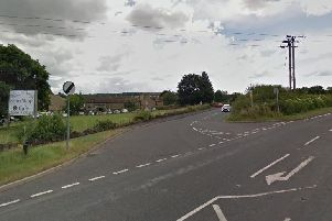 The Denby Dale Road and Branch road junction.