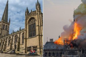 Wakefield Cathedral will join churches and cathedrals across the country in paying respect to Notre Dame cathedral.