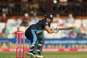 Matt Critchley hit a game-changing innings to help Derbyshire to victory.