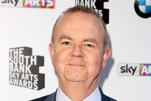 Ian Hislop will be visiting Pontefract.