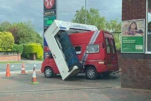 Oops! (Picture from Lindsay Beadnell Reid)