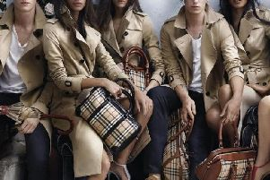 The iconic Burberry Heritage trench coat is made in Yorkshire.