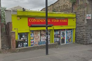 IN TROUBLE: Continental Food Store on Westgate.