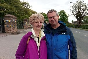 Karen and Paul Beck, from Kent, have discovered the beauty of Yorkshire through the tour.