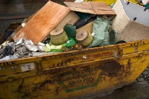 The service acknowledged the documents should not have been put in the skip, the CQC said.