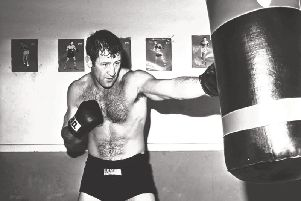 Paul Sykes in his boxing heyday