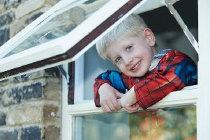 Superhero Isaac, 4, praised after helping to rescue his injured aunt
