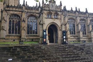 Drunks caught trying to climb Wakefield Cathedral